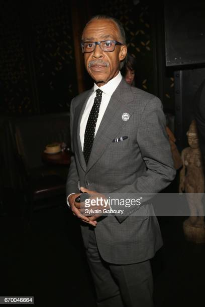 Rev Al Sharpton attends 'The Immortal Life Of Henrietta Lacks' New York Premiere After Party at TAO Downtown on April 18 2017 in New York City