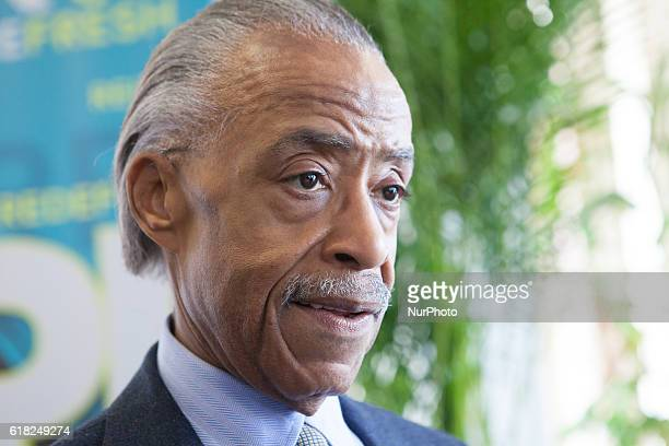 Rev Al Sharpton In the Blackburn Center Ballroom on the campus of Howard University in Washington DC USA on 25 October 2016 Ms Cathy Hughes Founder...
