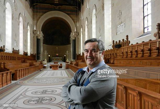 Rev Alain Roy in the chapel of Montreal's historic seminary