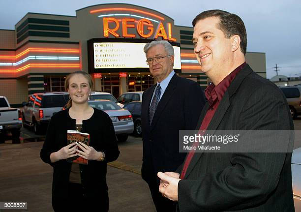 Rev. Andy Harris , pastor of the Central Assembly of God Church, in Haughton, Louisiana, stands in the parking lot of a Regal Cinema movie theater...