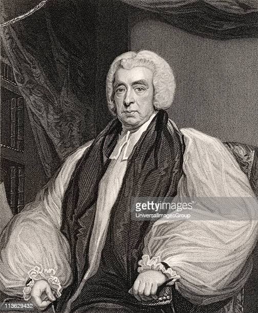 Rev Beilby Porteus 1731 to 1809 Bishop of Chester and London Anglican reformer and abolitionist Engraved by H Meyer after J Hoppner From the book...