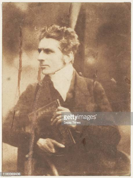 Rev Charles John Brown 184347 Salted paper print from paper negative Photographs David Octavius Hill Robert Adamson