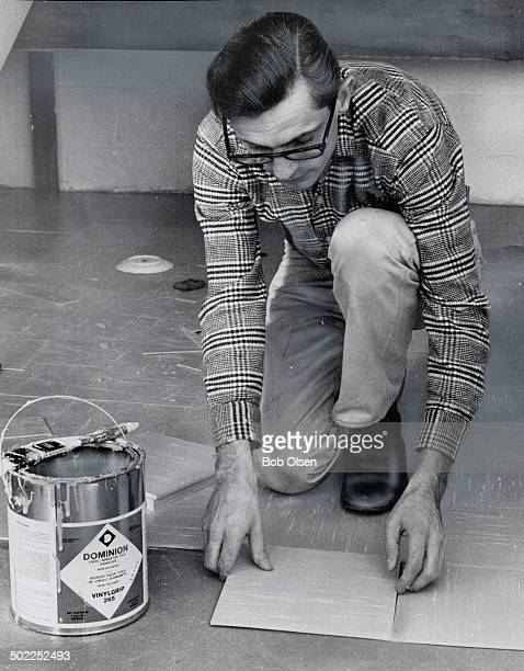 Rev Donald Whiteside home on furlough from Columbia lays tile for a friend After serving a prison sentence for armed assault with intent to rob...
