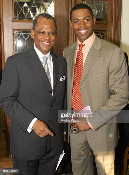 Rev Dr Calvin Butts and Dr Ian Smith during Announcement of the 10th Annual Harlem Renaissance Day of Commitment at Shepard Hall at City College in...