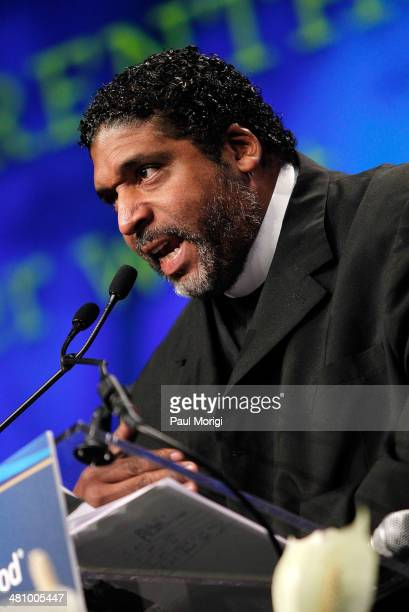 Rev Dr William Barber makes a few remarks after receiving the 'Planned Parenthood Care No Matter What' Award the Planned Parenthood Federation Of...