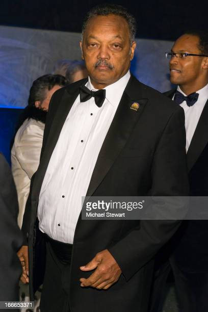 Rev Jesse Jackson attends the after party for the Broadway opening night for Motown The Musical at Roseland Ballroom on April 14 2013 in New York City