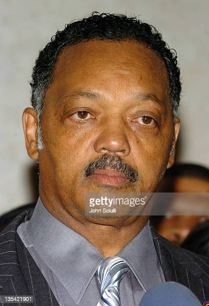 Rev Jesse Jackson during Rainbow Push Coalition Dinner to Celebrate Rev Jesse Jackson at Beverly Hilton Hotel in Beverly Hills California United...