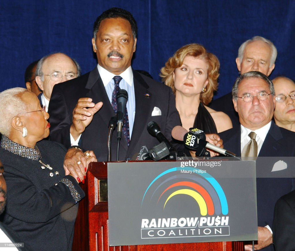 Rainbow/PUSH Coalition Fifth Annual Awards Dinner and 61st Birthday Celebration for Rev. Jesse Jackson, Sr. - Arrivals