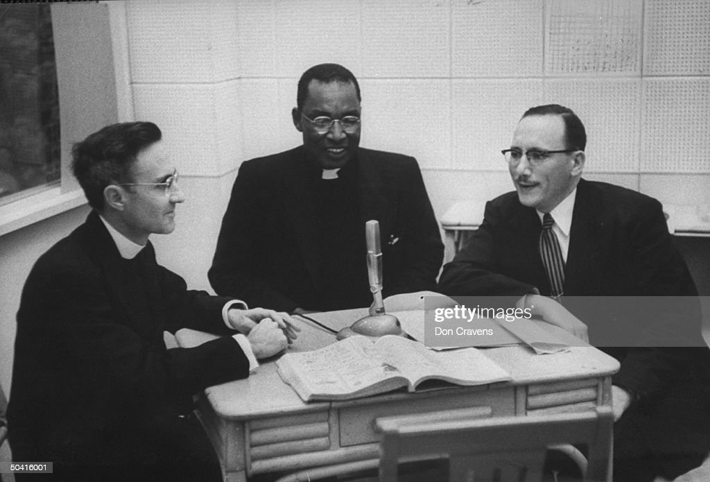 L. R. Bennett;Seymour Atlas;Michael Caswell : News Photo