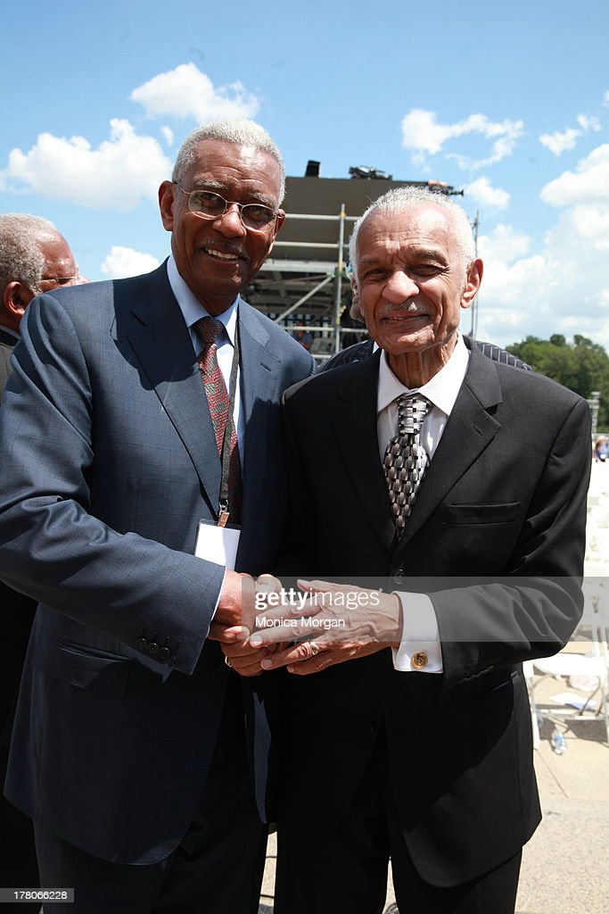 Rev. Otis Moss Jr. and C.T Vivian attends the 50th Anniversary Of Martin Luther King's March On Washington on August 24, 2013 in Washington, DC.