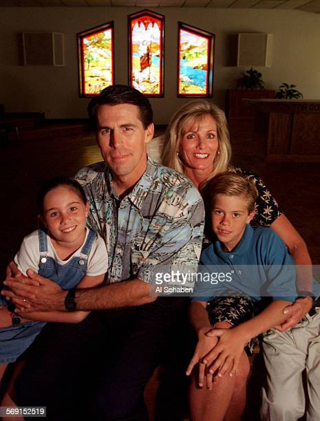 Rev. Robert A. Schuler, pastor at Rancho Capistrano Community Church, with wife, Donna and children Christina and Anthony Sunday following Sunday...
