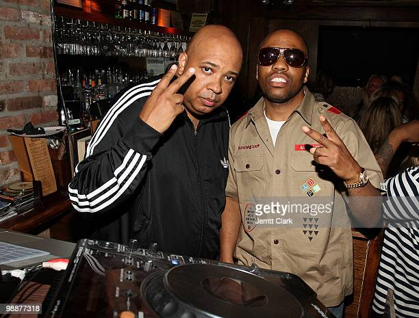 Rev Run and Consequence attend Cinco de Mayo at The Eldridge on May 5 2010 in New York City