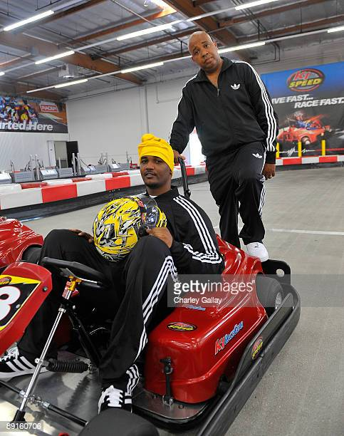Rev Run of RUNDMC meets his daughter Vanessa's boyfriend Mike Wayans the son of Damon Wayans and star of the new movie Dance Flick for some friendly...