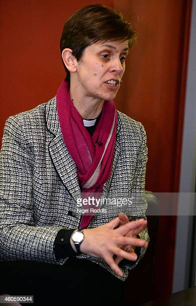 Revd Libby Lane during a visit to the YMCA on December 17 2014 in Crewe England It has been announced today the Reverend Libby Lane will become the...