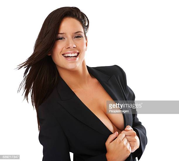 revealing just enough.... - dressed undressed women stockfoto's en -beelden