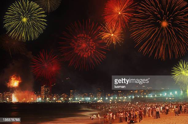 Reveillon in Copacabana