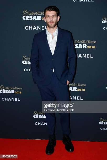 Revelation for '120 battements par minute' Arnaud Valois attends the 'Cesar Revelations 2018' Party at Le Petit Palais on January 15 2018 in Paris...