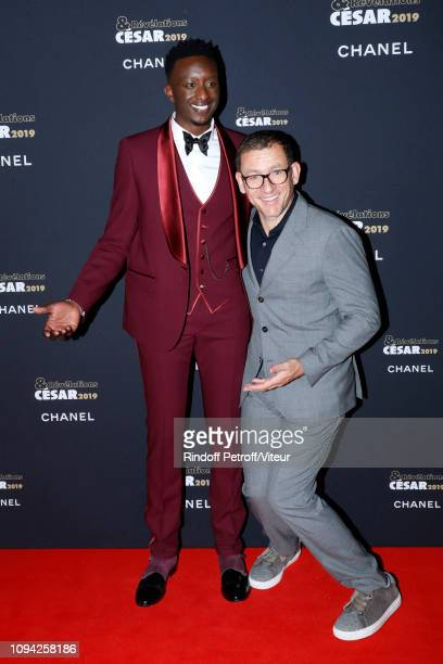 Revelation for Chacun pour tous Ahmed Sylla and his sponsor Dany Boon attend the 'Cesar Revelations 2019' at Le Petit Palais on January 14 2019 in...