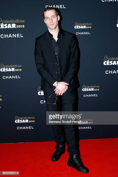 Revelation for 'Especes menacees' Damien Chapelle attends the 'Cesar Revelations 2018' Party at Le Petit Palais on January 15 2018 in Paris France