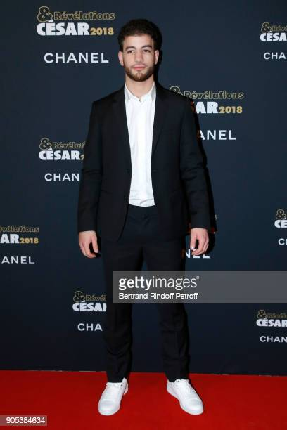 Revelation for 'Grave' Rabah Nait Oufella attends the 'Cesar Revelations 2018' Party at Le Petit Palais on January 15 2018 in Paris France