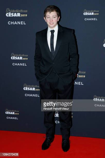 Revelation for 'La priere' Anthony Bajon attends the 'Cesar Revelations 2019' at Le Petit Palais on January 14 2019 in Paris France
