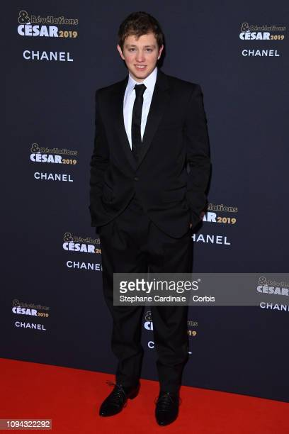Revelation for 'La priere' Anthony Bajon attends the 'CesarRevelations 2019' at Le Petit Palais on January 14 2019 in Paris France