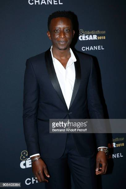 Revelation for 'L'Ascension' Ahmed Sylla attends the 'Cesar Revelations 2018' Party at Le Petit Palais on January 15 2018 in Paris France