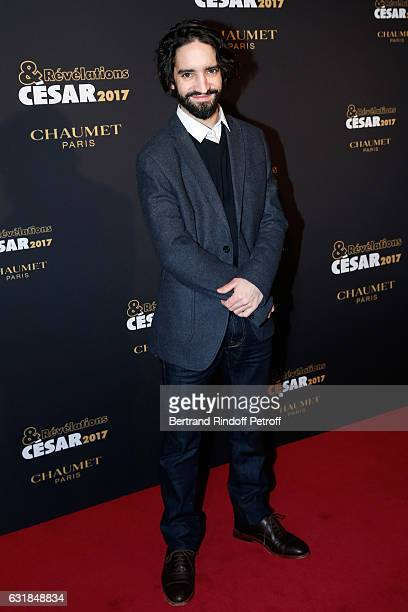 Revelation for 'Les Premier les dernier' David Murgia attends the 'Cesar Revelations 2017' Photocall and Cocktail at Chaumet on January 16 2017 in...