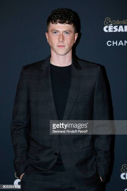 Revelation for 'Marvin ou la belle education' Finnegan Oldfield attends the 'Cesar Revelations 2018' Party at Le Petit Palais on January 15 2018 in...