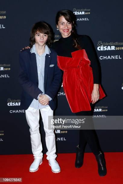 Revelation for Monsieur Jesaistout Max Baissette de Malglaive and his sponsor Audrey Dana attend the 'Cesar Revelations 2019' at Le Petit Palais on...