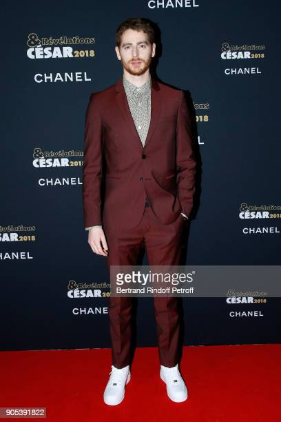 Revelation for 'Patients' Pablo Pauly attends the 'Cesar Revelations 2018' Party at Le Petit Palais on January 15 2018 in Paris France
