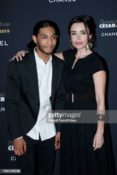 Revelation for Sheherazade Dylan Robert and his sponsor Elodie Bouchez attend the 'Cesar Revelations 2019' at Le Petit Palais on January 14 2019 in...