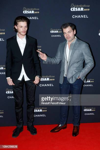 Revelation for Sheherazade Idir Azougli and his sponsor Clovis Cornillac attend the 'Cesar Revelations 2019' at Le Petit Palais on January 14 2019 in...
