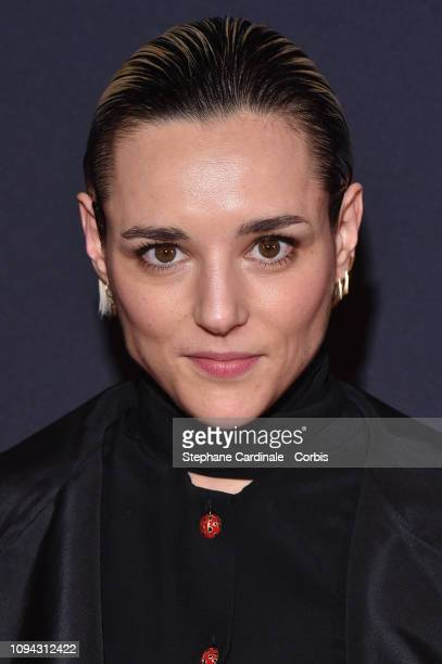 Revelation for 'Un amour impossible' Jehnny Beth dressed in Gucci attends the 'CesarRevelations 2019' at Le Petit Palais on January 14 2019 in Paris...