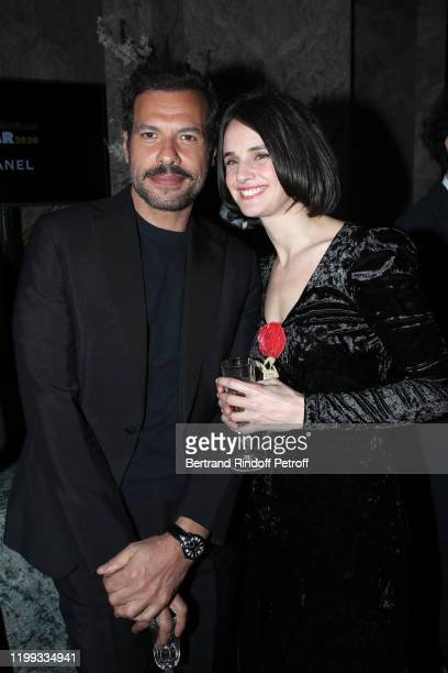 Revelation for Un beau voyou Jennifer Decker and her sponsor Laurent Lafitte attend the Cesar Revelations 2020 Photocall at Petit Palais on January...