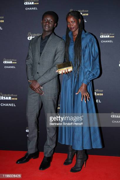 """Revelations for """"Atlantique"""" Amadou Mbow and Mama Sane attend the """"Cesar - Revelations 2020"""" Photocall at Petit Palais on January 13, 2020 in Paris,..."""