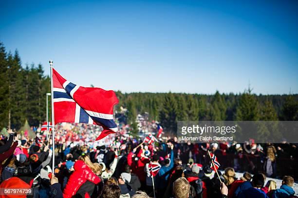 Revelers in Nordmarka