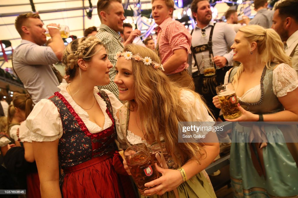 Oktoberfest 2018: Opening Day : News Photo