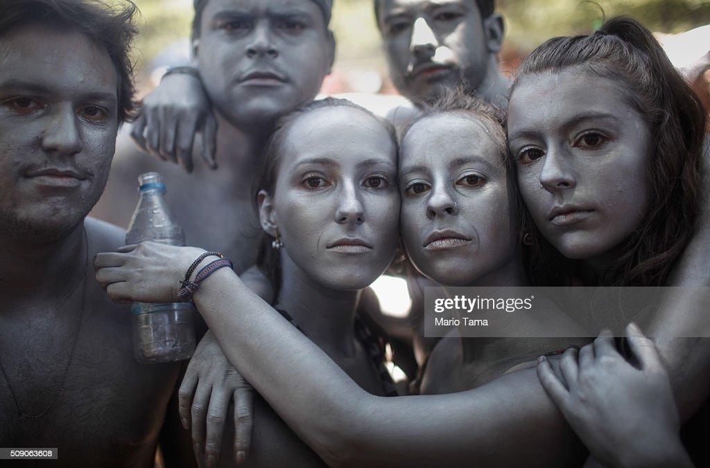 Rio De Janeiro Celebrates During Carnival Season : News Photo