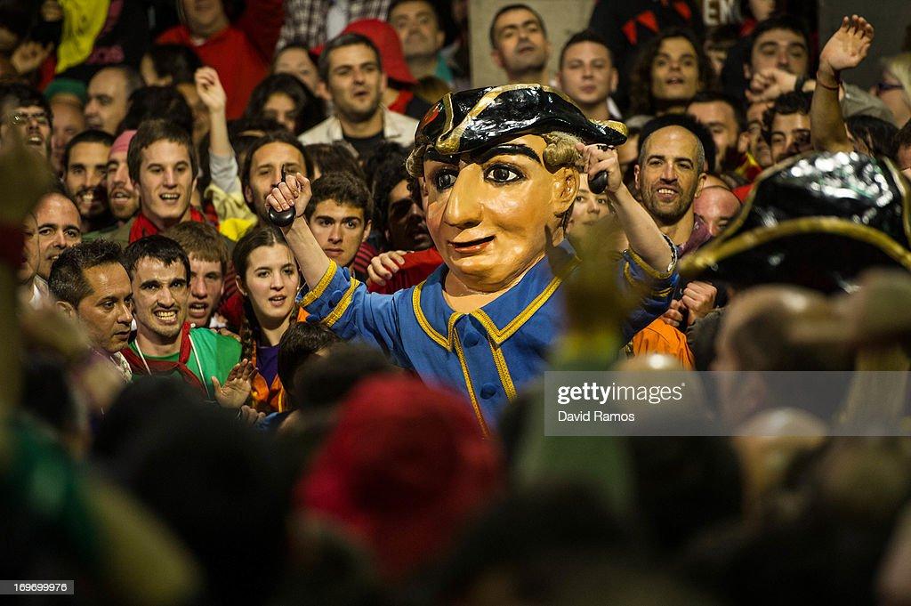 The Spanish Festival of 'La Patum' : News Photo
