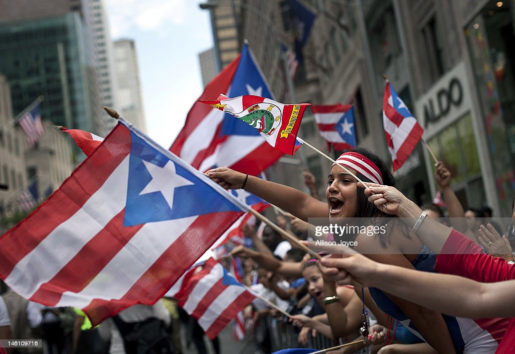 Annual Puerto Rican Day Parade Held In New York City : News Photo