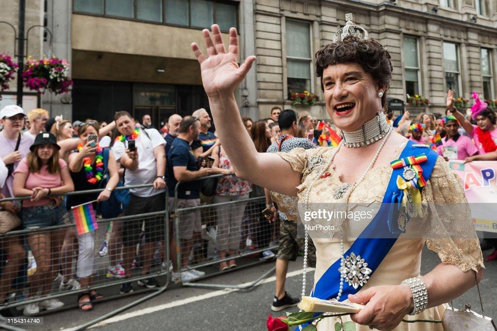 Pride In London 2019 Celebrations : News Photo