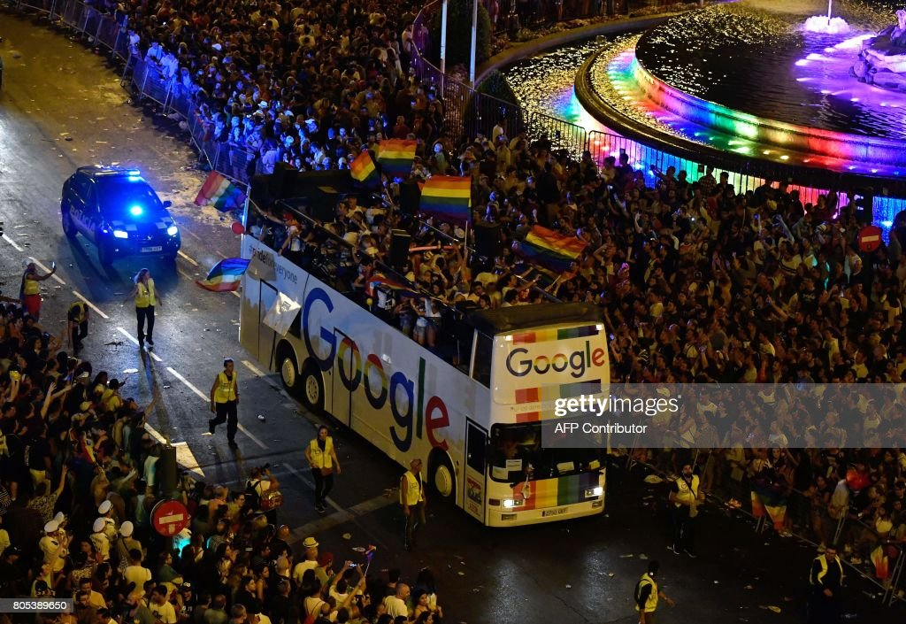 SPAIN-WORLDPRIDE-PARADE : News Photo