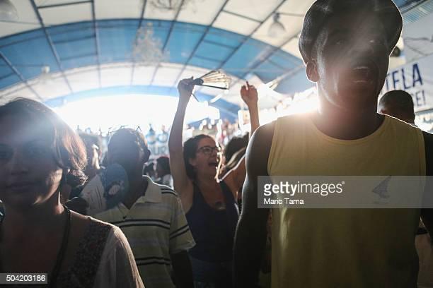 42 Portela Samba School Prepares For Carnival In Rio De
