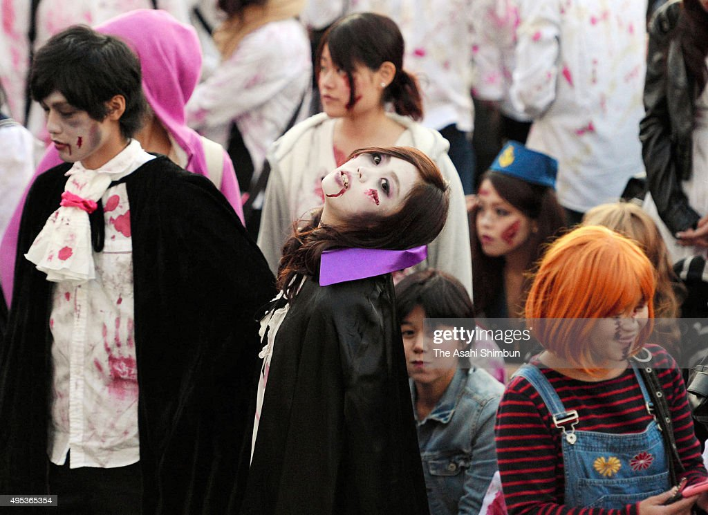 Japanese Enjoy Halloween Photos and Images | Getty Images
