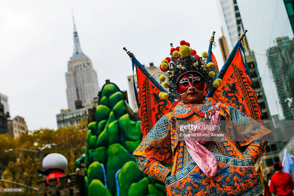 Macy's Annual Thanksgiving Day Parade : News Photo