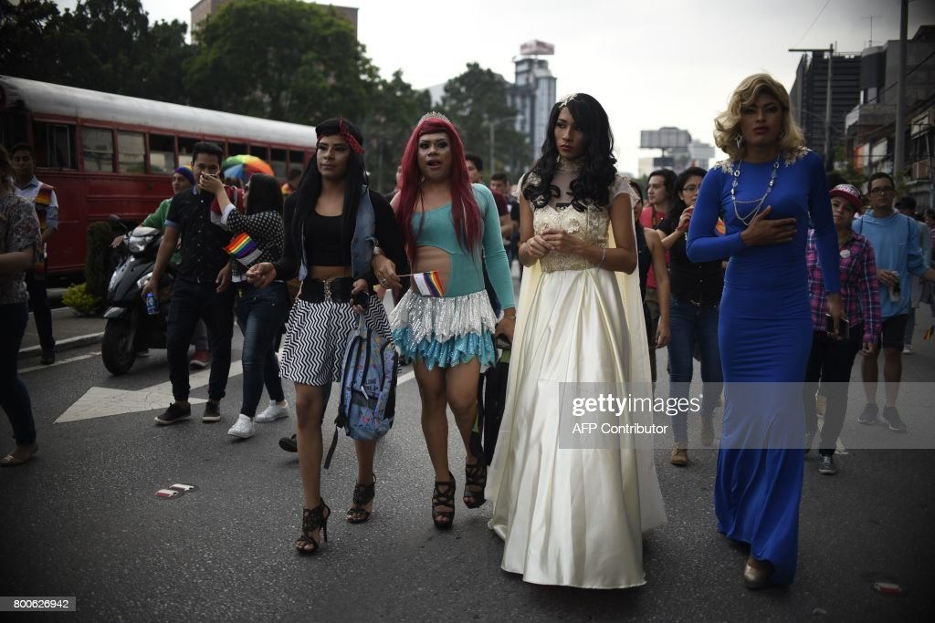 GUATEMALA-GAY-PARADE : News Photo