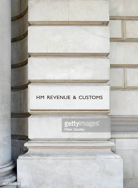 HM Revenue and Customs upright