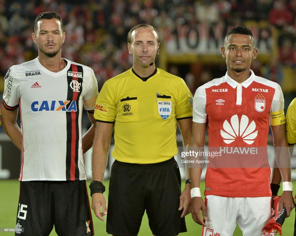 Indpendiente Santa Fe v Flamengo - Copa CONMEBOL Libertadores 2018
