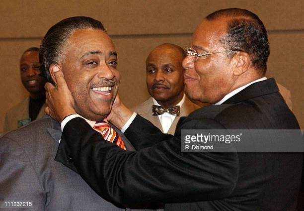 Reverend Al Sharpton and Minister Louis Farrakhan
